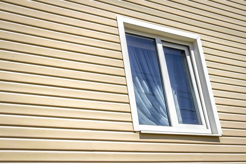 durable vinyl siding surrounding a home